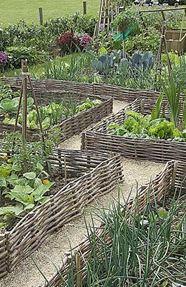 bordure de jardin en plessis