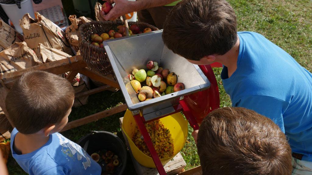 pressoir à pommes